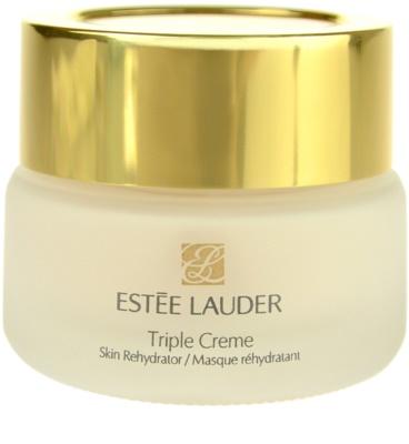 Estée Lauder Triple Creme Feuchtigkeitsspendende Maske mit ernährender Wirkung für alle Hauttypen