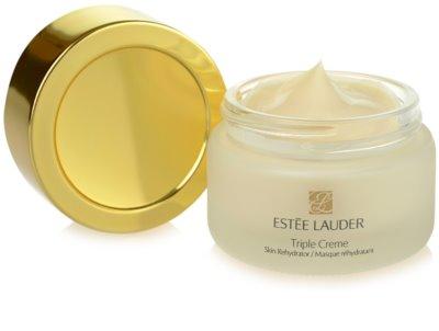 Estée Lauder Triple Creme hydratační a vyživující maska pro všechny typy pleti 1