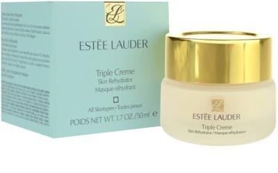 Estée Lauder Triple Creme hydratační a vyživující maska pro všechny typy pleti 2