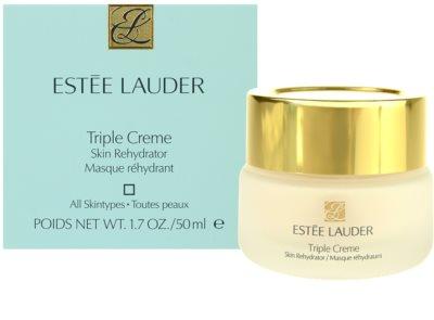 Estée Lauder Triple Creme hydratační a vyživující maska pro všechny typy pleti 3