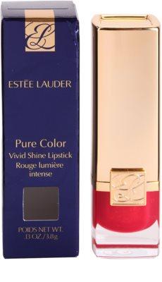 Estée Lauder Pure Color Vivid Shine hydratisierender Lippenstift 2