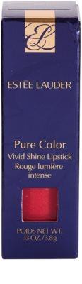 Estée Lauder Pure Color Vivid Shine hydratisierender Lippenstift 3