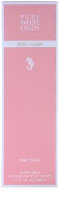 Estée Lauder Pure White Linen Pink Coral testápoló tej nőknek 1