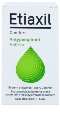 Etiaxil Comfort antiperspirant roll-on z učinkom 3–5 dni 2