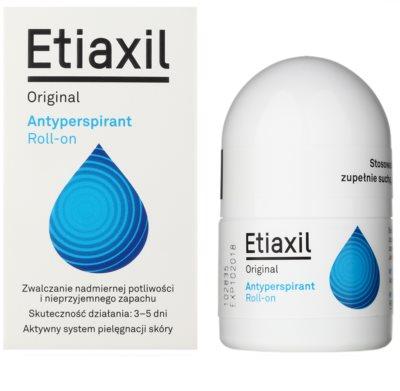 Etiaxil Original antitranspirante roll-on con efecto de 3 a 5 días de protección para todo tipo de pieles 1