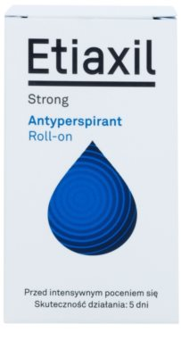 Etiaxil Strong antitranspirante roll-on con efecto de 5 días de protección  contra el exceso de sudor 2