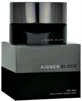 Etienne Aigner Black for Man eau de toilette férfiaknak