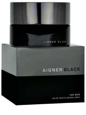 Etienne Aigner Black for Man Eau de Toilette para homens