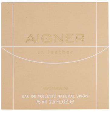 Etienne Aigner In Leather Woman eau de toilette para mujer 4