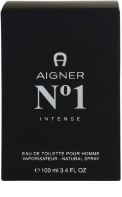 Etienne Aigner No. 1 Intense Eau de Toilette pentru barbati 4