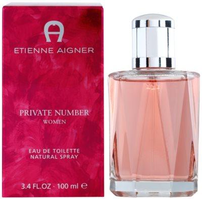 Etienne Aigner Private Number eau de toilette para mujer