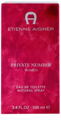 Etienne Aigner Private Number Eau de Toilette für Damen 4