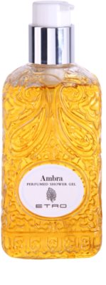 Etro Ambra Shower Gel unisex 2