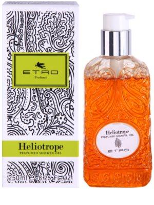 Etro Heliotrope gel de ducha unisex