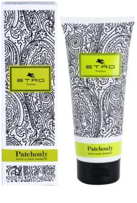 Etro Patchouly gel de ducha unisex  para cabello y cuerpo