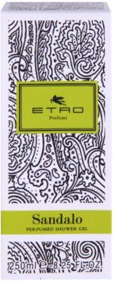 Etro Sandalo gel de ducha unisex 3