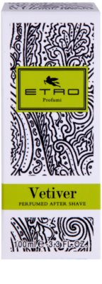 Etro Vetiver after shave unissexo 4