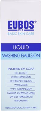 Eubos Basic Skin Care Blue emulsie pentru spalare fara parfum 2
