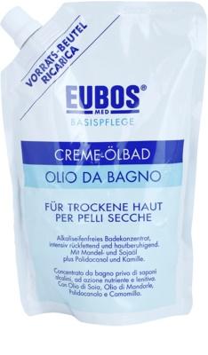 Eubos Basic Skin Care kúpeľový olej pre suchú pokožku náhradná náplň