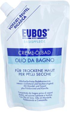 Eubos Basic Skin Care olje za kopel za suho kožo nadomestno polnilo