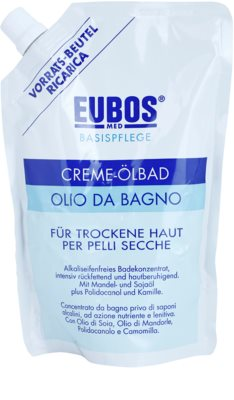 Eubos Basic Skin Care олио за вана за суха кожа пълнител