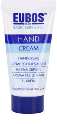 Eubos Basic Skin Care crema regeneradora para manos