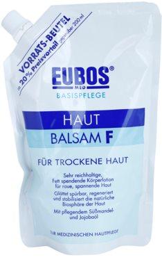 Eubos Basic Skin Care F balzam za telo za suho kožo nadomestno polnilo