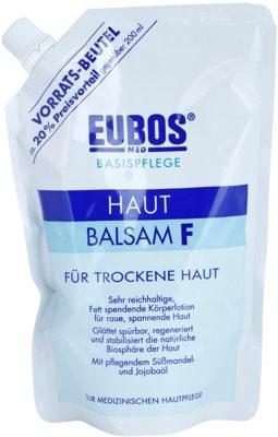 Eubos Basic Skin Care F telový balzam pre suchú pokožku náhradná náplň