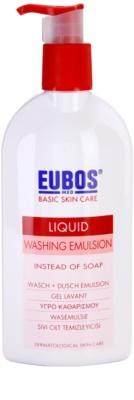 Eubos Basic Skin Care Red emulzija za umivanje brez parabenov