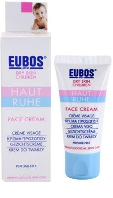 Eubos Children Calm Skin crema ligera reparador de la barrera cutánea 1