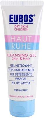 Eubos Children Calm Skin gel limpiador suave con aloe vera