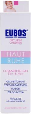 Eubos Children Calm Skin sanftes Reinigungsgel mit Aloe Vera 2