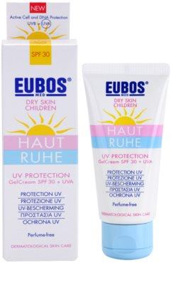 Eubos Children Calm Skin захисний гелевий крем SPF 30 1