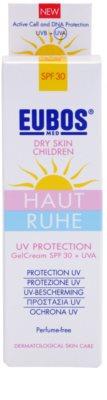 Eubos Children Calm Skin védő géles krém SPF 30 2