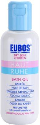 Eubos Children Calm Skin olejek do kąpieli do skóry delikatnej i gładkiej