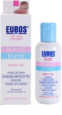 Eubos Children Calm Skin fürdő olaj a finom és sima bőrért 1