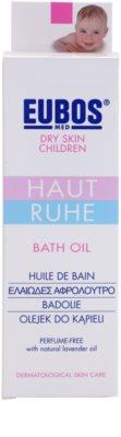 Eubos Children Calm Skin olejek do kąpieli do skóry delikatnej i gładkiej 2