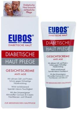 Eubos Diabetic Anti Age pleťový krém s protivráskovým účinkem 1