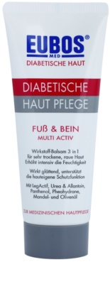 Eubos Diabetic Multi Active crema hidratante para pies y piernas