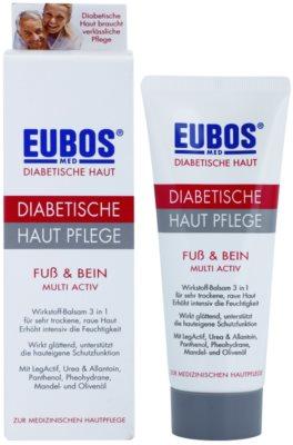 Eubos Diabetic Multi Active hydratačný krém na nohy a chodidlá 1