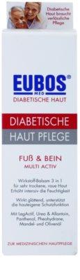 Eubos Diabetic Multi Active hydratačný krém na nohy a chodidlá 2