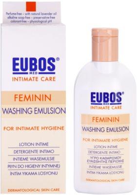 Eubos Feminin emulsão para higiene íntima 1