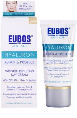 Eubos Hyaluron védőkrém a bőröregedés ellen SPF 20 1