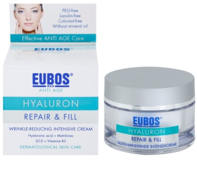 Eubos Hyaluron intensive, hydratisierende Creme gegen Falten 2
