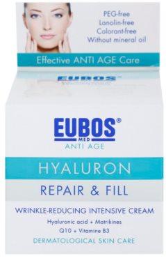 Eubos Hyaluron intensive, hydratisierende Creme gegen Falten 3