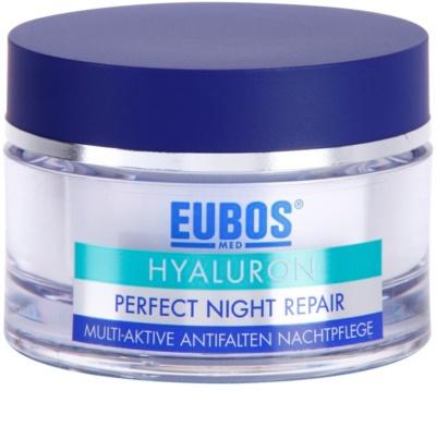Eubos Hyaluron intensywna kuracja na noc przeciw zmarszczkom