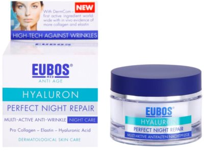 Eubos Hyaluron intensywna kuracja na noc przeciw zmarszczkom 1