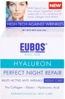 Eubos Hyaluron intensywna kuracja na noc przeciw zmarszczkom 2