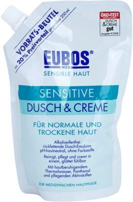 Eubos Sensitive sprchový krém s termálnou vodou náhradná náplň