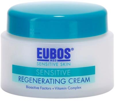 Eubos Sensitive crema regeneradora con agua termal